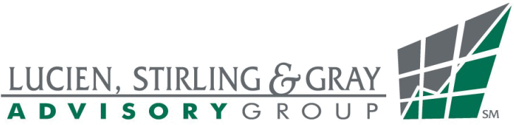 Lucien, Stirling & Gray Advisory Group, Inc. Sticky Logo Retina